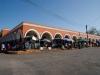 Η εξωτερική άποψη της κεντρικής αγοράς της πόλης