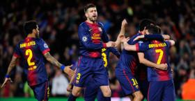 Barcelona-v-AC-Milan-Barcelona-celebrate-Lion_2913781