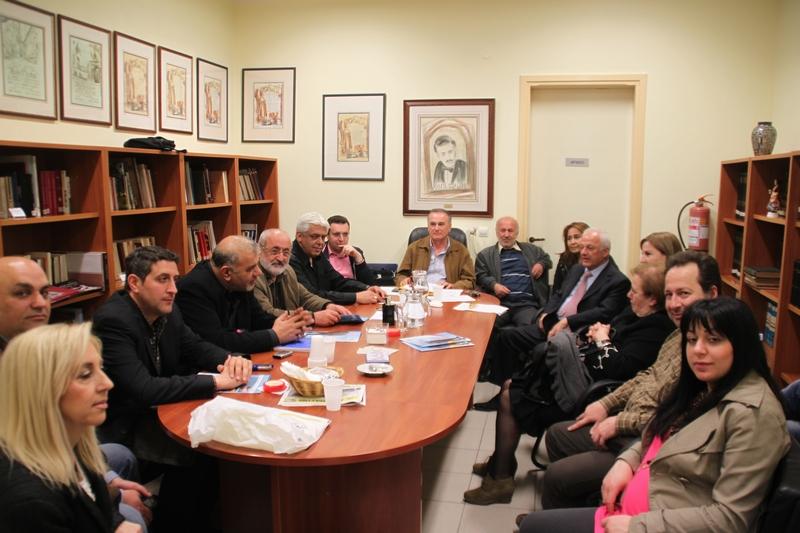 συνάντηση στην Εύξεινο Λέσχη